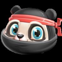 Ninja Panda Inu
