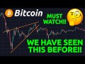 MUST WATCH!! WE HAVE SEEN THIS BEFORE!?! PEOPLE ARE ACCUMULATING BITCOIN!!