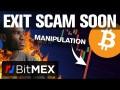 BTC Manipulation Strong! BitMEX Exit Scam Soon!? Regulators Begin Pressure!