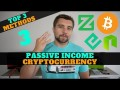 Top 3 Ways To Earn Passive Income with Cryptocurrency in 2019!